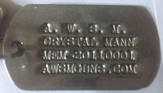 Official AWSM! Membership Tag!