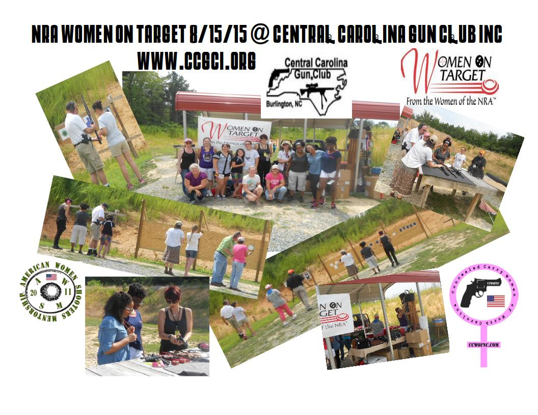 NRA Women On Target Event